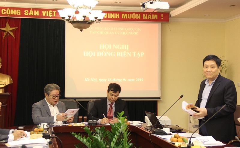 TS. Lê Như Thanh – Nguyên Phó Giám đốc Thường trực Học viện đề xuất Tạp chí QLNN nghiên cứu, xuất bản ấn phẩm tiếng Anh