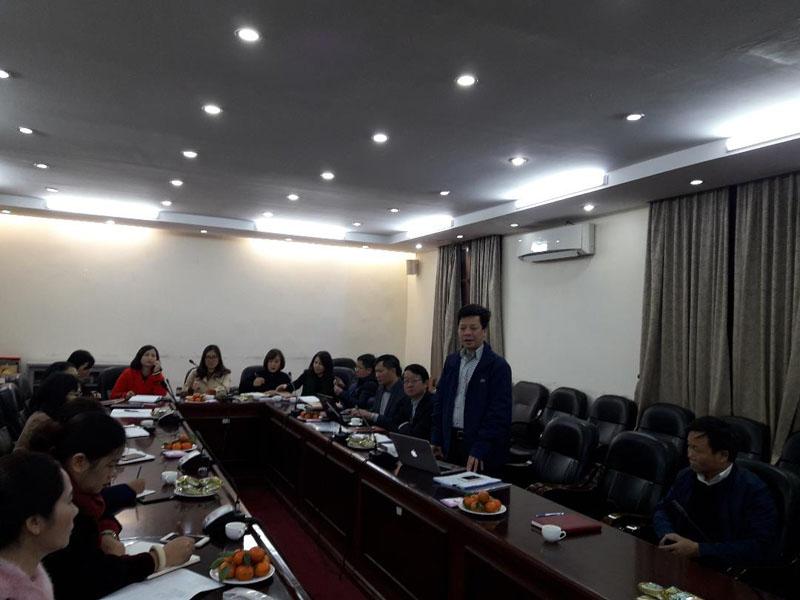 TS. Đặng Thành Lê, Viện trưởng phát biểu khai mạc