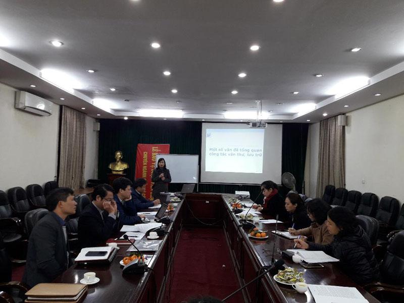 TS. Nguyễn Thị Lan Anh, Phó Trưởng khoa Văn bản và Công nghệ hành chính