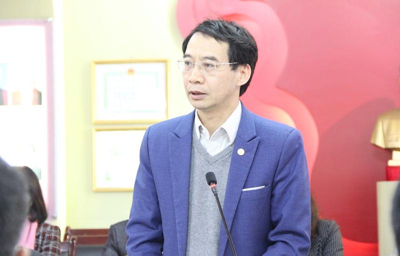 PGS.TS. Lương Thanh Cường – Phó Giám đốc Học viện, Trưởng Tiểu ban Nội dung báo cáo về kết quả triển khai nhiệm vụ của các tiểu ban