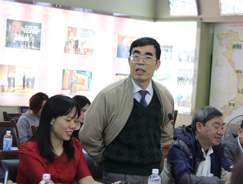 TS. Hoàng Sỹ Kim – nguyên Trưởng Khoa QLNN về Đô thị và Nông thôn đề xuất tham khảo ý kiến của đội ngũ các chuyên gia, nhà quản lý trong quá trình xây dựng dự thảo chiến lược