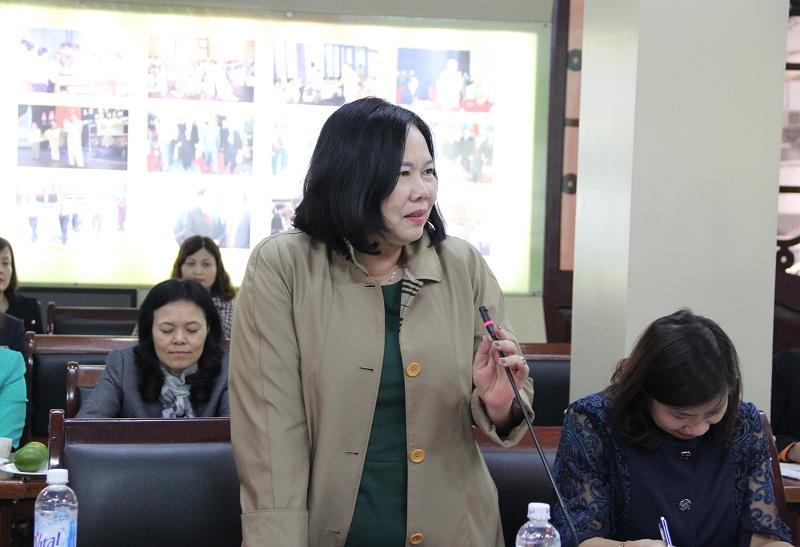 PGS.TS. Lê Thị Hương – Nguyên Trưởng Khoa Nhà nước và Pháp luật trao đổi về kết cấu của Chiến lược