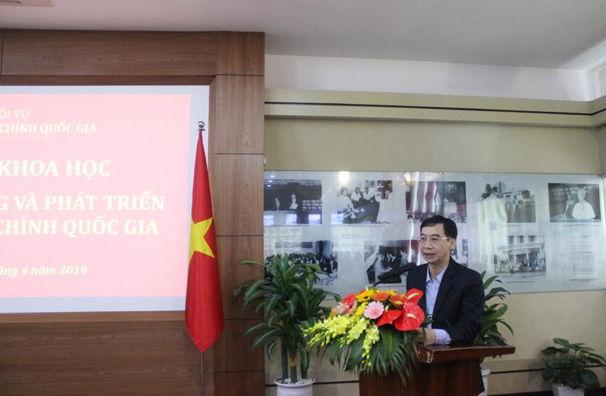 PGS.TS. Lương Thanh Cường - Phó Giám đốc Học viện phát biểu khai mạc Hội thảo