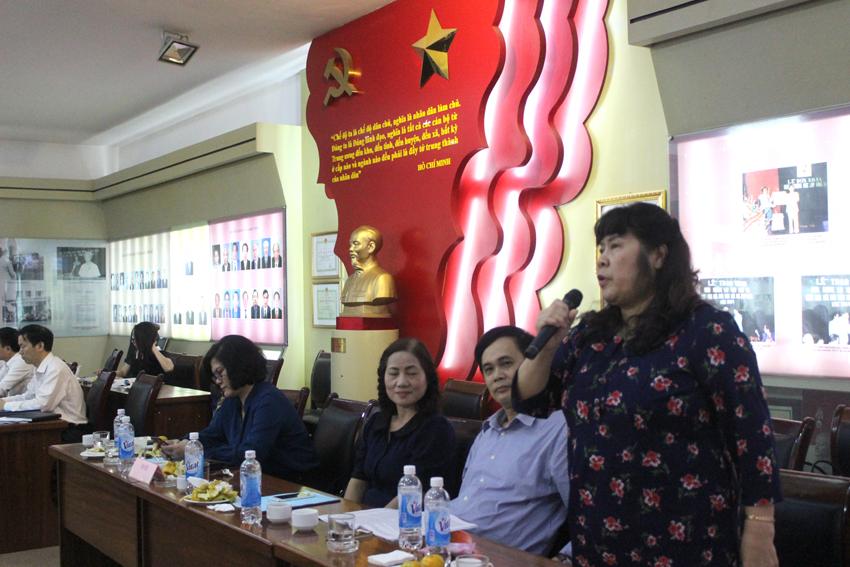 Các đại biểu đóng góp ý kiến