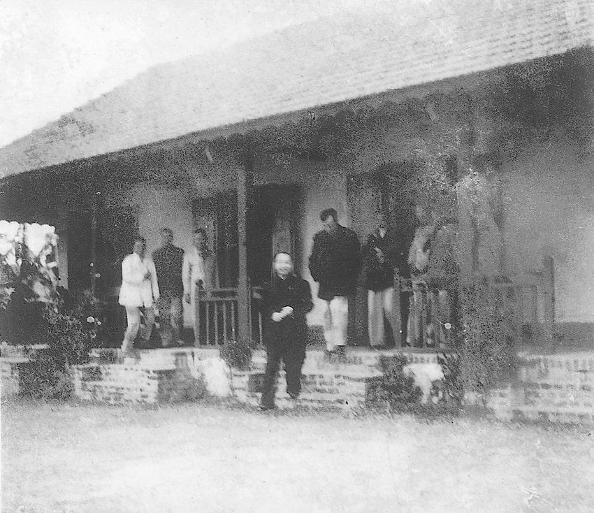 Tổng Bí thư Trường Chinh thăm Trường Hành chính tại Phù Lưu, Tân Hồng, Từ Sơn, Bắc Ninh, tháng 10/1959