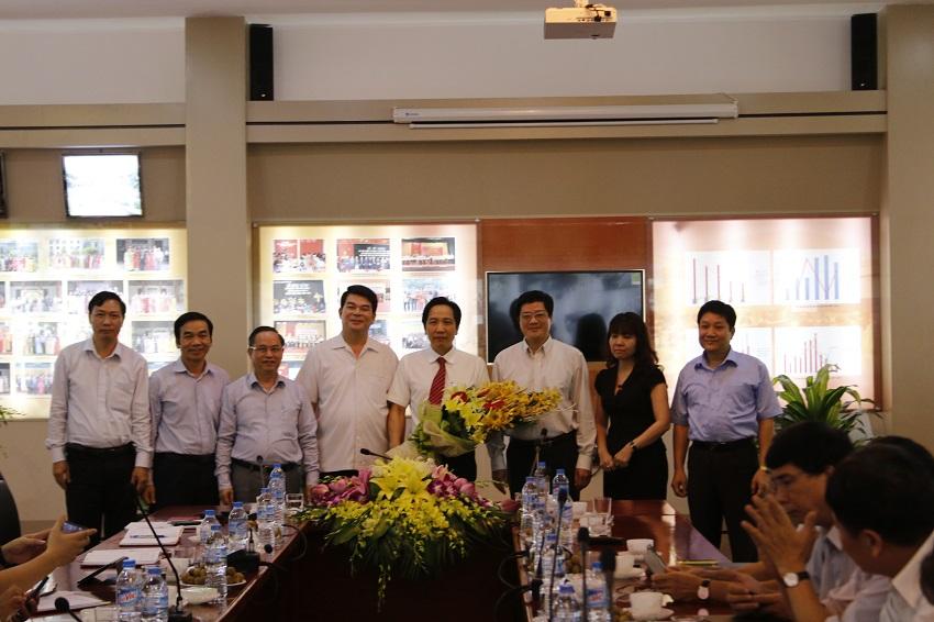 TS. Trần Anh Tuấn - Ủy viên Ban cán sự Đảng, Thứ trưởng Bộ Nội vụ được phân công phụ trách, điều hành Học viện Hành chính Quốc gia