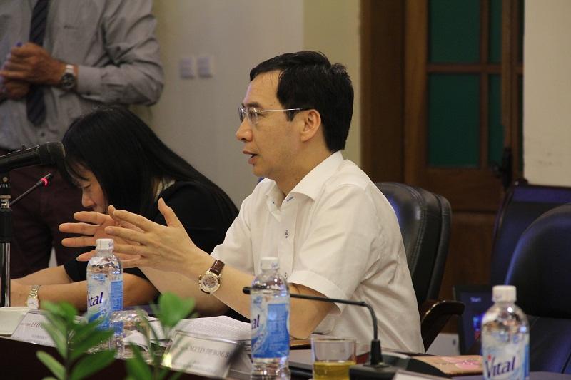 PGS.TS. Lương Thanh Cường – Phó Giám đốc Học viện phát biểu tại Tọa đàm