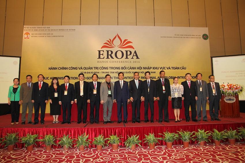 Đồng chí Nguyễn Tấn Dũng - Thủ tướng Chính phủ dự Hội nghị EROPA, năm 2014