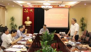 TS. Đặng Xuân Hoan – Giám đốc Học viện Hành chính Quốc gia, Chủ tịch Hội đồng Biên tập Tạp chí QLNN phát biểu tại Hội thảo