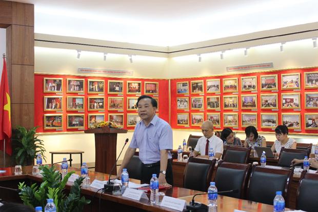 TS. Nguyễn Đăng Quế, Phó Giám đốc Học viện phát biểu chỉ đạo Hội thảo