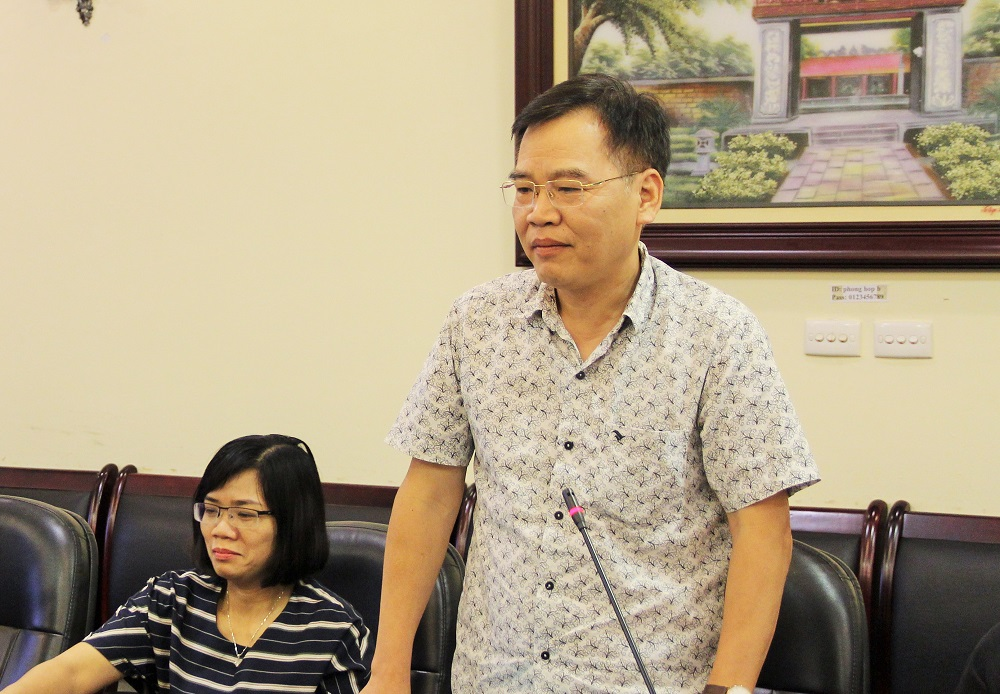 ThS. Nguyễn Đức Kha – Phó Trưởng Ban điện tử, Tạp chí Cộng sản chia sẻ quan điểm về đăng tải thông tin trên tạp chí khoa học chuyên ngành