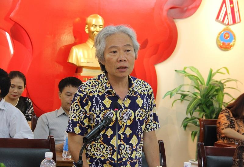 TS. Tạ Ngọc Hải – Viện trưởng Viện Khoa học Tổ chức nhà nước góp ý tại Hội thảo