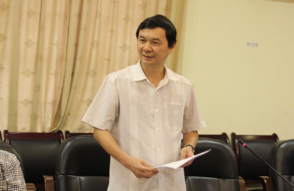 Nhà báo Ngô Minh Tuấn – Tổng Biên tập Tạp chí Xây dựng Đảng chia sẻ kinh nghiệm về xây dựng cơ chế hoạt động và quy trình biên tập tin, bài trên tạp chí điện tử