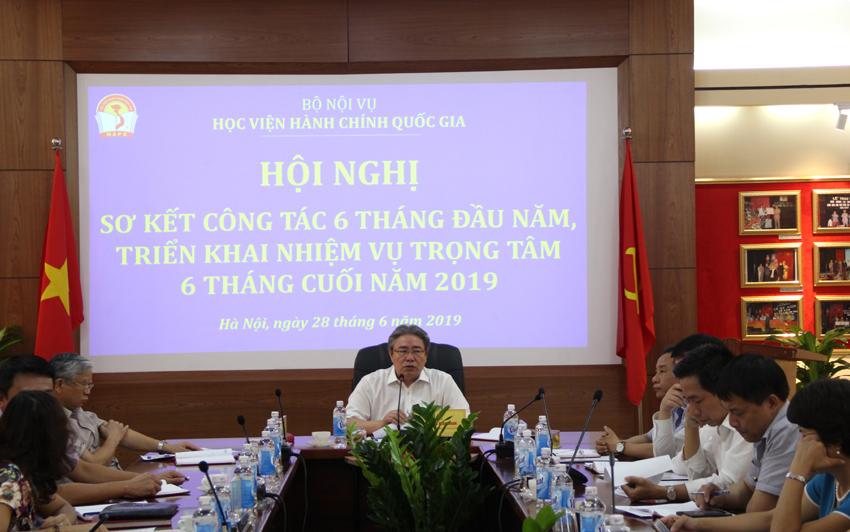 TS. Đặng Xuân Hoan – Giám đốc Học viện phát biểu chỉ đạo tại Hội nghị