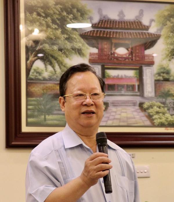 Ông Vũ Xuân Hồng, Nguyên Chủ tịch Liên hiệp các Hội Hữu nghị Việt Nam