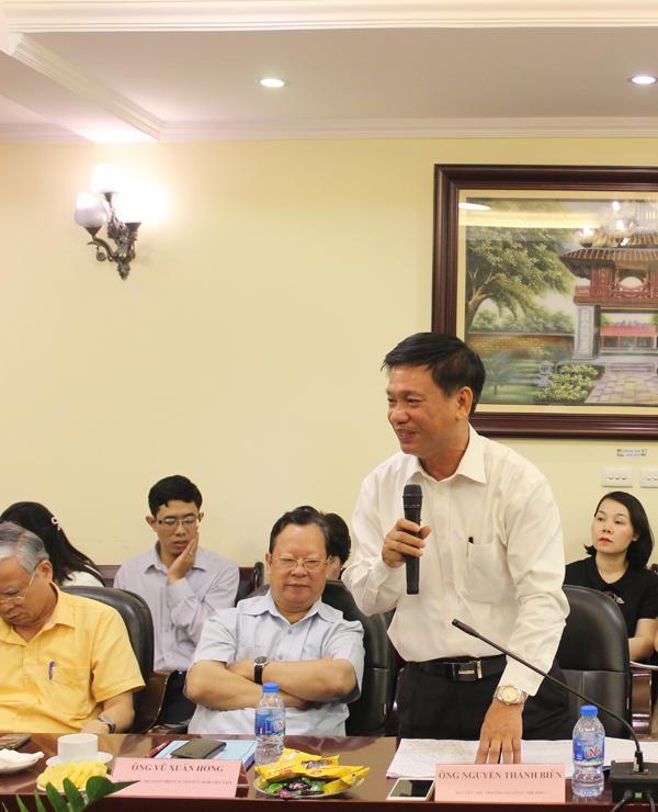 Ông Nguyễn Thành Biên, Nguyên Thứ trưởng Bộ Công thương