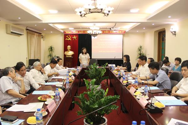 PGS.TS. Nguyễn Thị Thu Vân phát biểu kết thúc Hội thảo