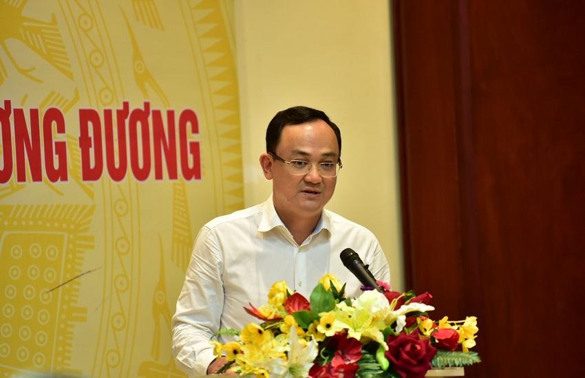 Đồng chí Nguyễn Ngọc Sơn  -  Đại diện học viên phát biểu