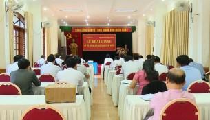 Toàn cảnh buổi lễ khai giảng khoá học