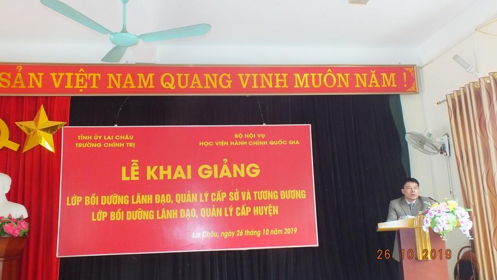 ThS. Tống Đăng Hưng, Phó Trưởng ban Quản lý bồi dưỡng - Học viện Hành chính Quốc gia