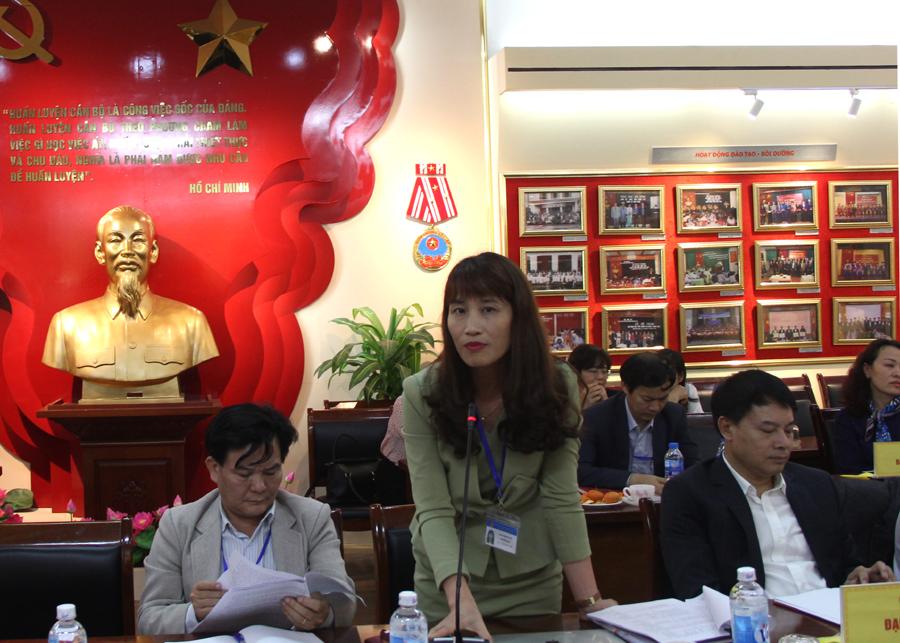 Một số đại biểu phát biểu ý kiến