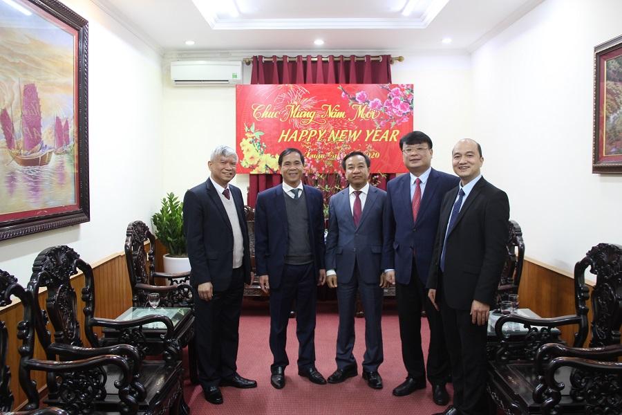 Thứ trưởng Bộ Nội vụ Triệu Văn Cường chúc mừng năm mới Học viện