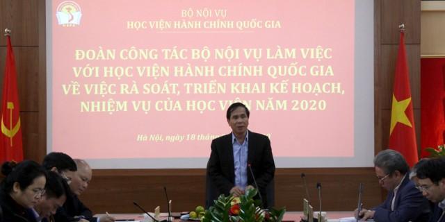 Thứ trưởng Triệu Văn Cường phát biểu chỉ đạo