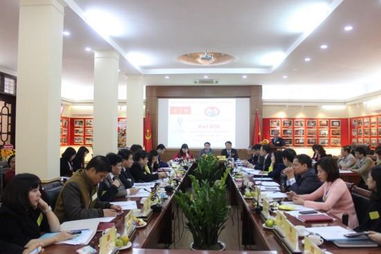 Các đại biểu tham luận tại đai hội và toàn cảnh đại hội