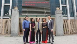 Tập thể viên chức Văn phòng Đảng – Đoàn thể