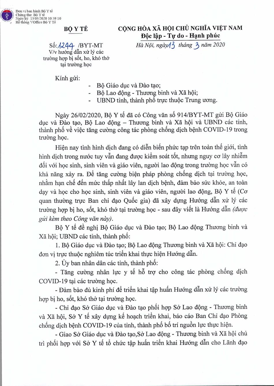 CV 1244 BYT huong dan xu tri sot ho tai truong hoc_page-0001