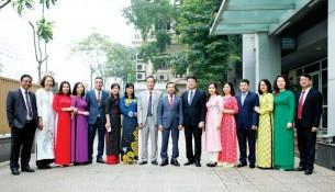 Ban Chấp hành Công đoàn Học viện Hành chính Quốc gia nhiệm kỳ 2017 - 2022