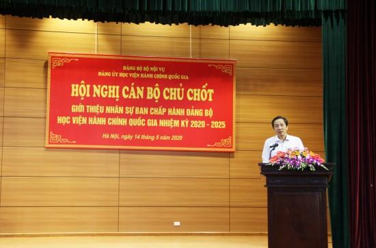 Đồng chí Trần Anh Tuấn, Bí thư Đảng ủy Bộ, Thứ trưởng Bộ Nội vụ