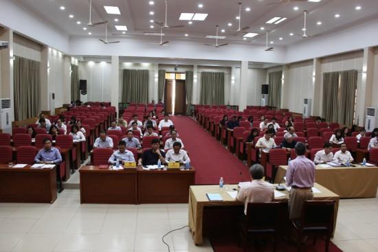 Hình ảnh các đại biểu tham gia Hội nghị