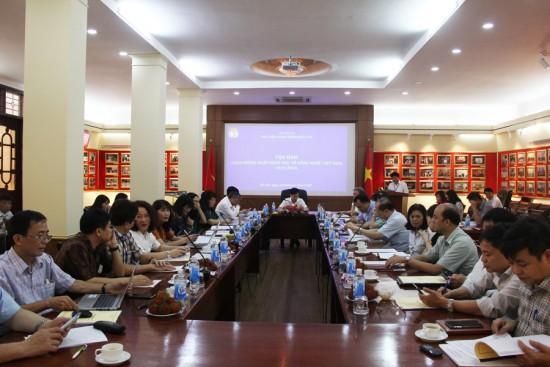 Hình ảnh các đại biểu tham dự Tọa đàm