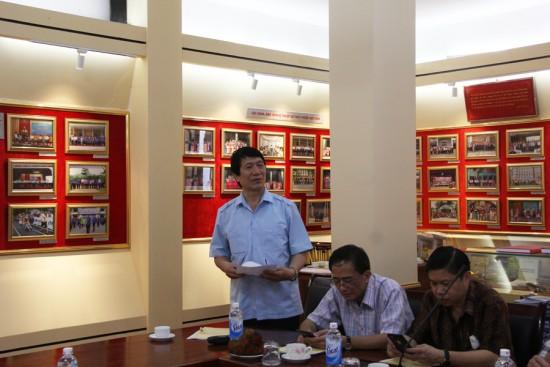 PGS.TS. Ngô Thành Can tham gia góp ý tại Tọa đàm