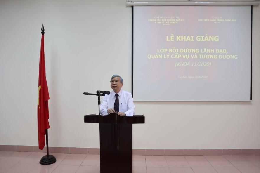 NGƯT.TS. Vũ Thanh Xuân, Phó Giám đốc Học viện Hành chính Quốc gia