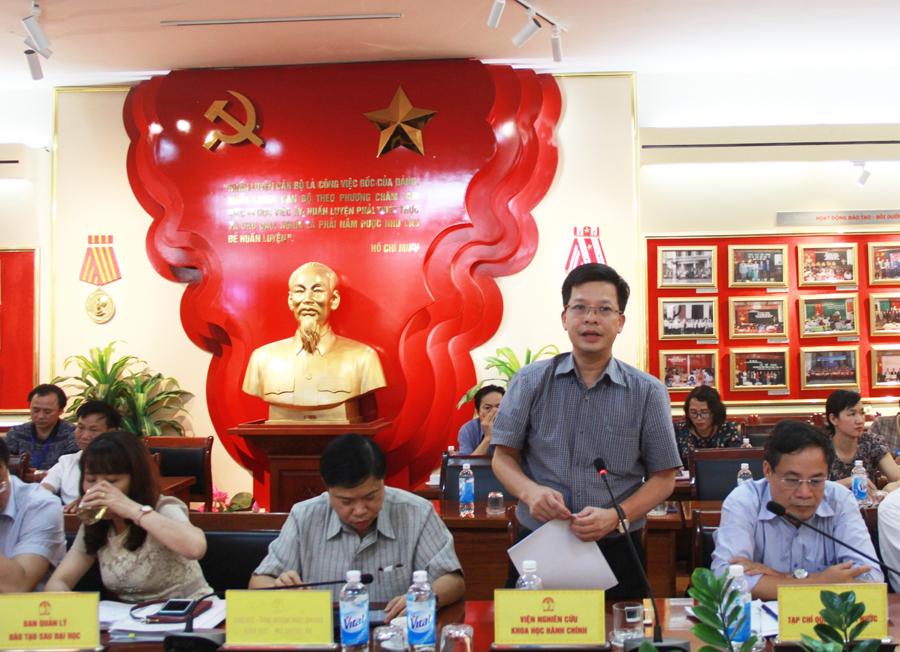 Các đại biểu tham dự phát biểu ý kiến