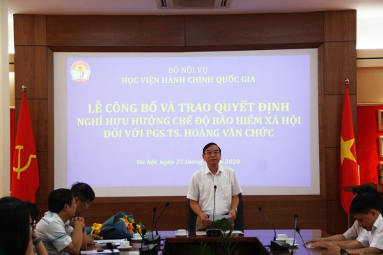 NGƯT. TS Vũ Thanh Xuân, Phó Giám đốc Học viện