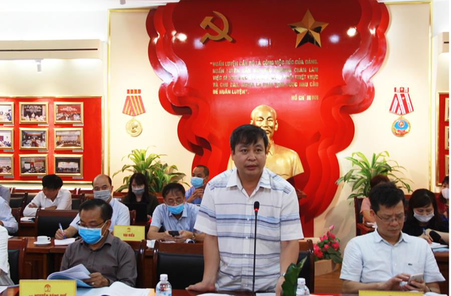 Các đại biểu tham dự đóng góp ý kiến