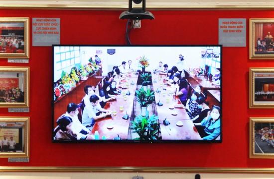 Các đại biểu tham dự Lễ công bố và trao Quyết định tại điểm cầu TP. Hồ Chí Minh