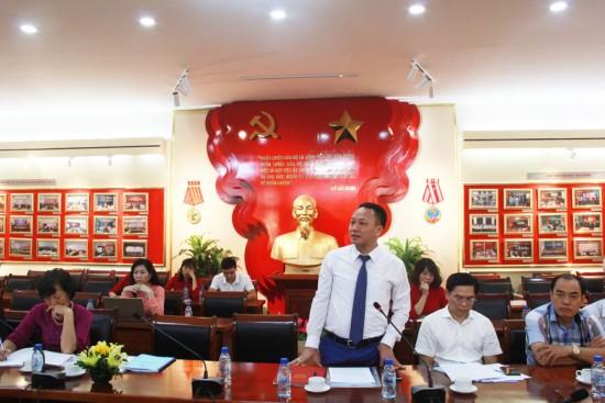ThS. Bùi Quang Đức, Phó Vụ trưởng Vụ Tổ chức - Cán bộ, Ban Thi đua Khen thưởng TW