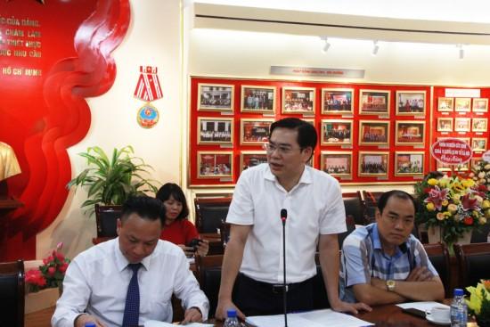 Ông Đỗ Đức Thịnh, Phó trưởng Ban Thi đua, khen thưởng TP. Hà Nội
