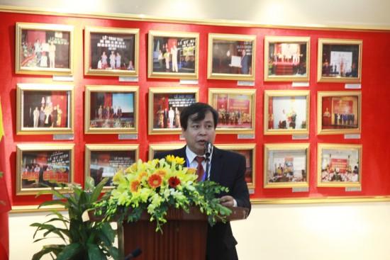PGS. TS. Đặng Khắc Ánh, Trưởng Khoa Quản lý nhà nước về Xã hội phát biểu khai mạc Hội thảo