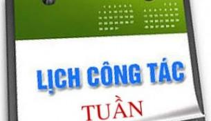 Lich cong tac