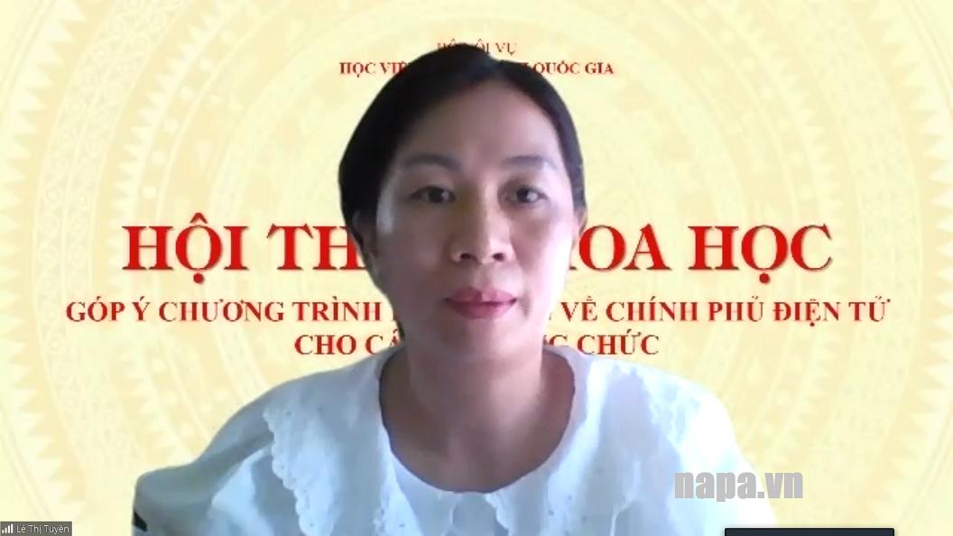 5. ThS. Lê Thị Tuyền XH