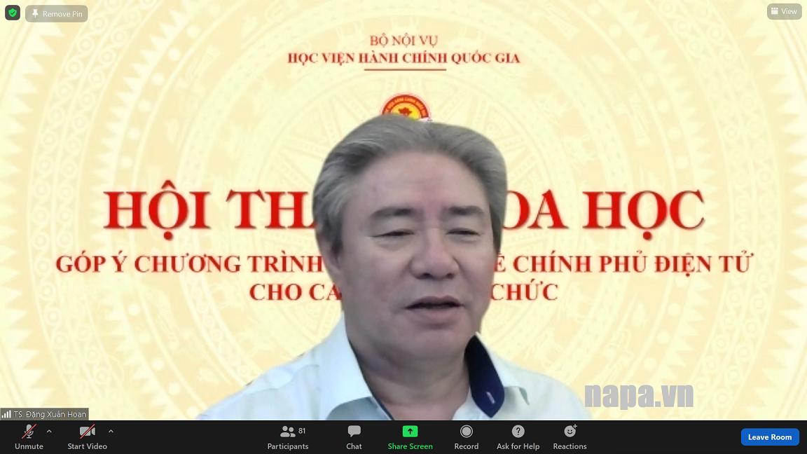 TS. Đặng Xuân Hoan