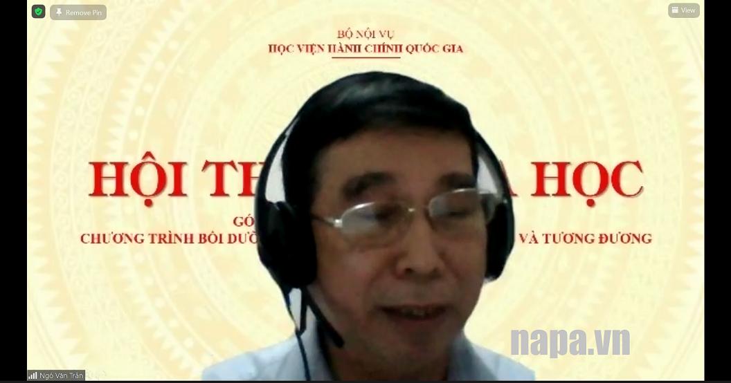 15. TS. Ngô Văn Trân