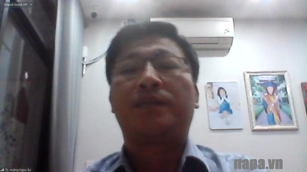 TS Hoang Ngoc Au