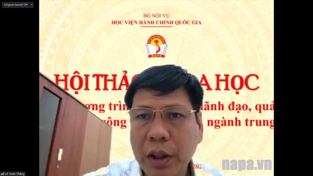 TS Le Toan Thang