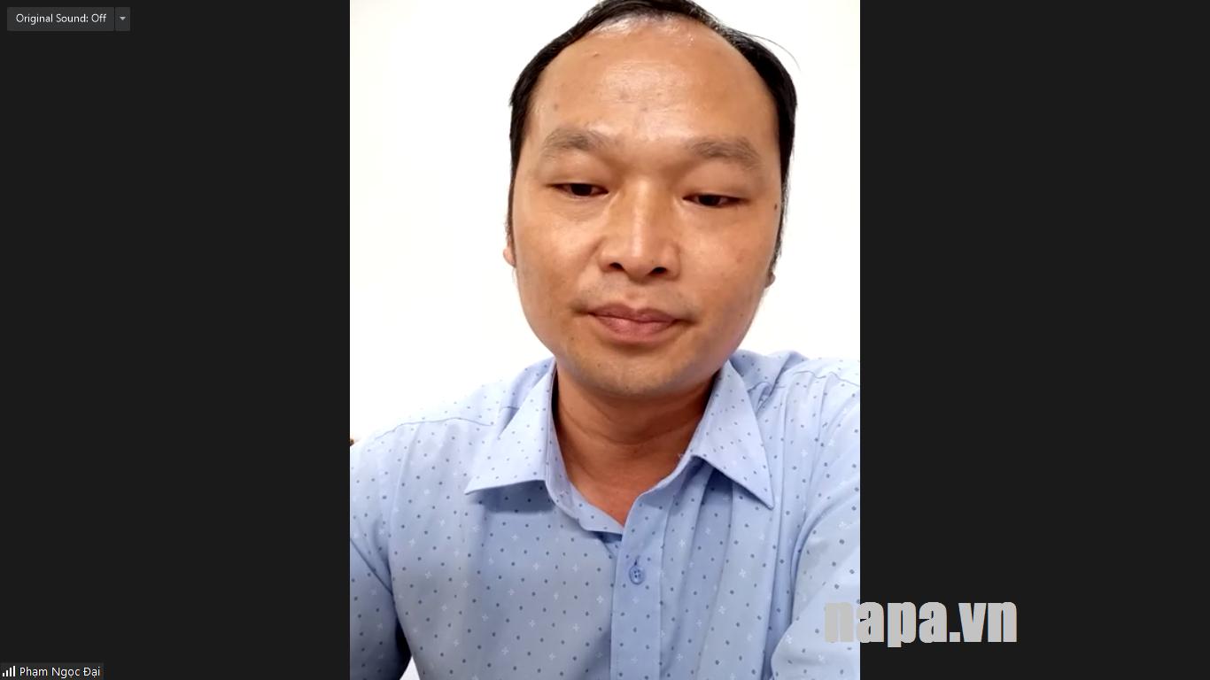 TS Pham Ngoc Dai